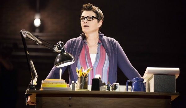 """Kate Shindle as 'Alison' in the national tour of """"Fun Home."""" """"Fun Home"""" is part of the Center Theatre Group/Ahmanson Theatre's 2016-2017 season and will be presented February 21 through April 1, 2017. For tickets and information, please visit CenterTheatreGroup.org or call (213) 972-4400. Contact: CTGMedia@CenterTheatreGroup.org / (213) 972-7376. Photo by Joan Marcus."""