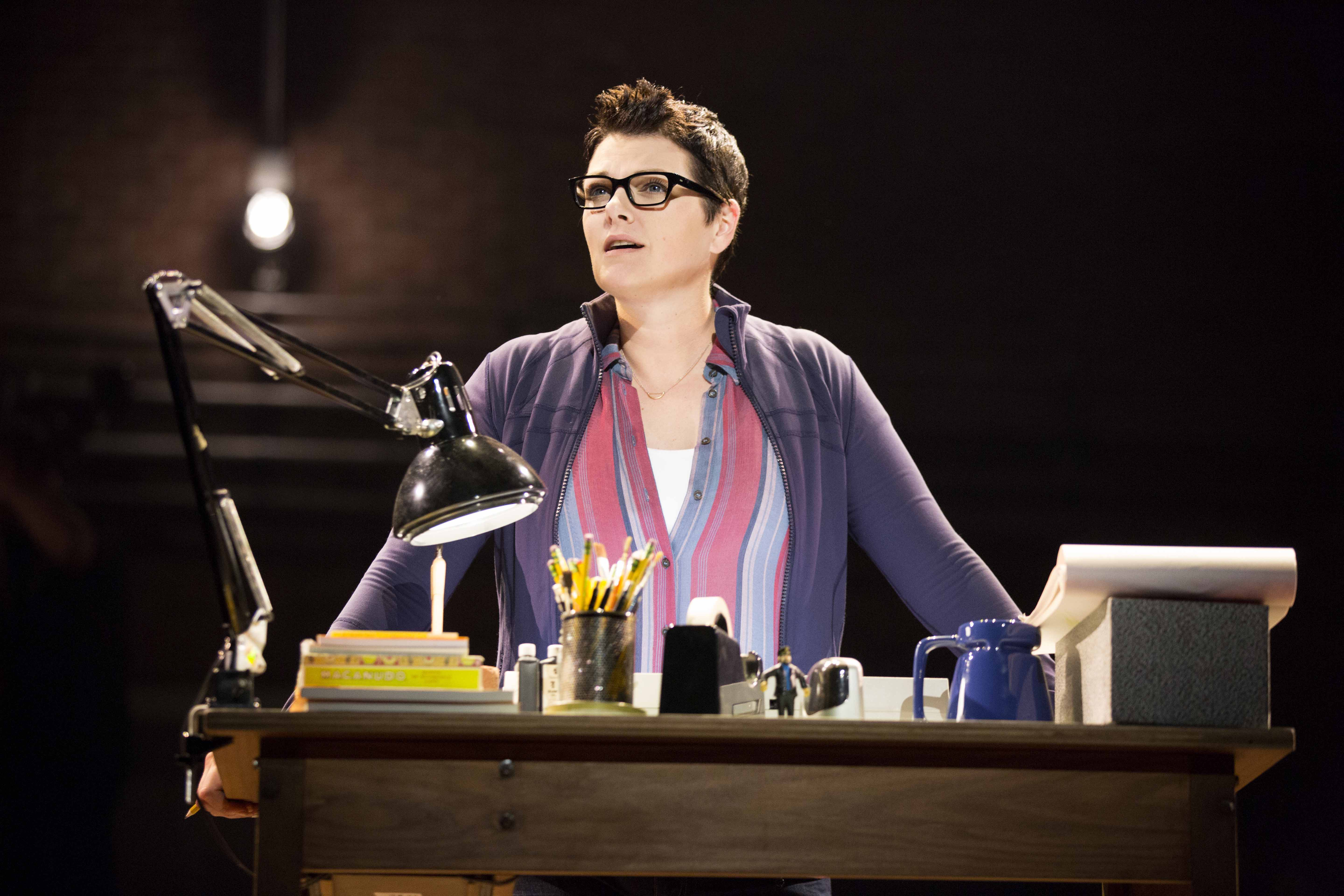 Kate Shindle as Alison in Fun Home ©Joan Marcus-CTG