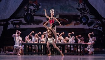 Los Angeles Ballet's Prodigal Son  Photo by Reed Hutchinson
