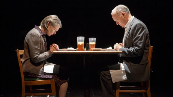 Annette O'Toole and Reed Birney in Man from Nebraska Credit: Joan Marcus
