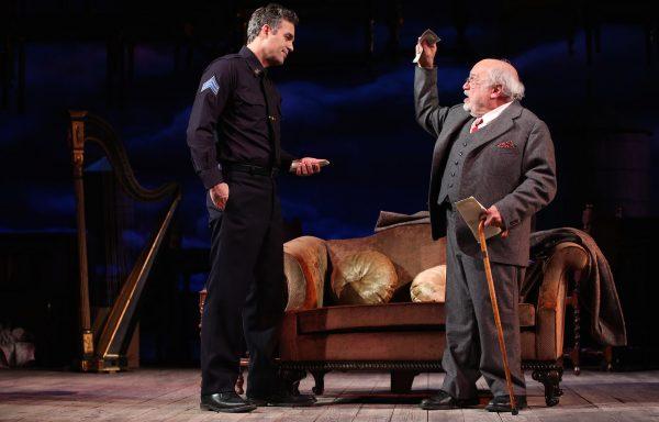 Mark Ruffalo and Danny DeVito in The Price. Credit: Joan Marcus