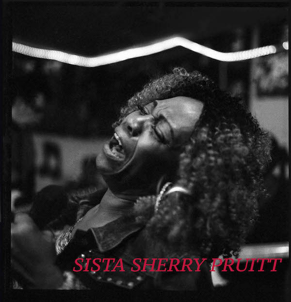 """""""Heartfelt and Passionate. Soul to the Soul"""". Living for the Blues with beauty and grace, Sista Sherry Pruitt at Bell's Blues Workshop in March 2017. Photography by Jim Storm."""
