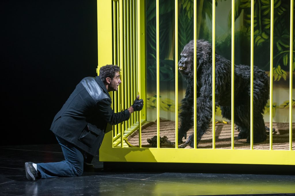 Bobby Cannavale and Phil Hill in The Hairy Ape. Credit: Stephanie Berger