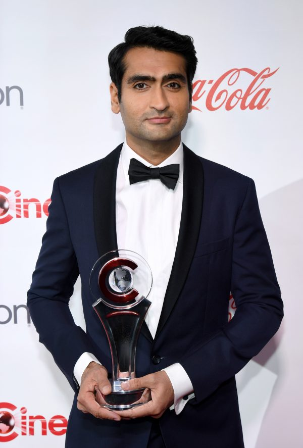 Kumail Nanjiani, photo by Ethan Miller/Getty Images for CinemaCon