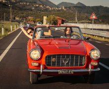 Valeria Bruni Tedeschi and Micaela Ramazzotti in LIKE CRAZY-La pazza gioia