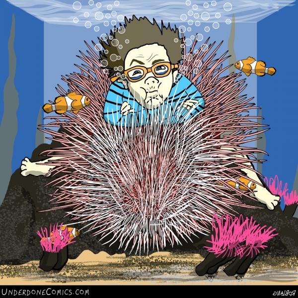 UNDERDONE anemone boy