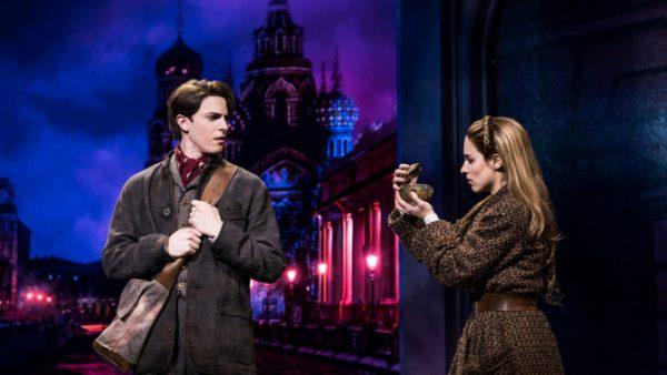 Derek Klena and Christy ALtomare in Anastasia. Credit: Matthew Murphy