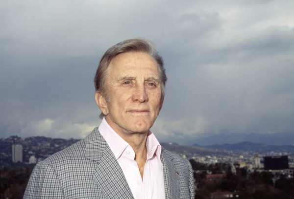 Kirk Douglas, photo © Elisa Leonelli 1986