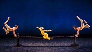 Martha Graham Dance Company in Maple Leaf Rag  Photo by Brigid Pierce