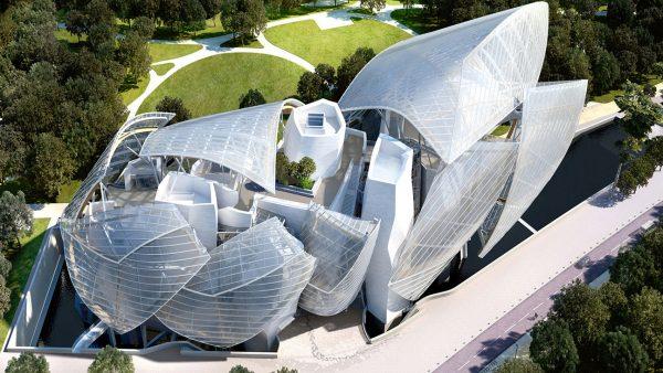 Fontation Louis Vuitton, Paris. Architect: Frank Gehry. Courtesy of Simone Imperato.