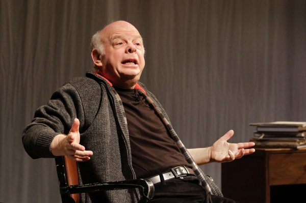 Wallace Shawn in The Designated Mourner at Redcat.