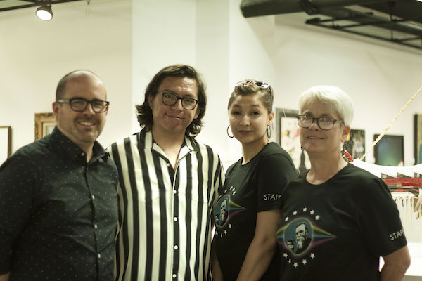 Mary Maxon. Ashley Pourier. Peter Strong. Willi White. Red Cloud Indian School Art Show. Heritage Center. Valerie J. Pronio--Stelluto MD.
