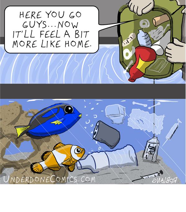 UNDERDONE Garbage Tank