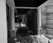 urban entrance