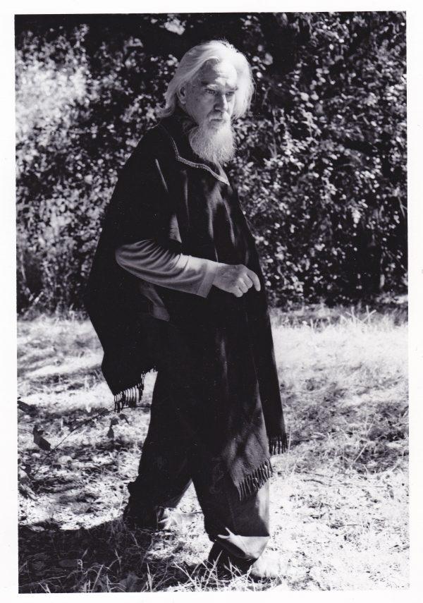 Edmund Teske at Topanga Corrall © Elisa Leonelli 1976