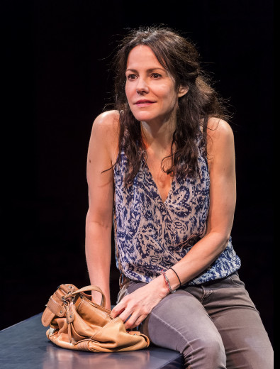 Mary-Louise Parker in Heisenberg at The Mark Taper.