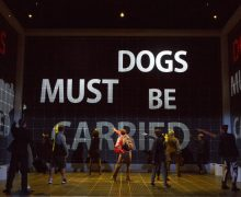 Image from the setting of Curious Incident of the Dog in the Night-Time at the Ahmanson Theatre.