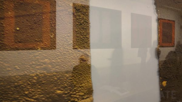 Brown Rothkos melting with Rothkos