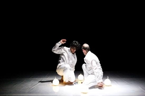 REDCAT New Original Works (NOW) Festival's Luis Lara Malvacías & Jeremy Nelson. Photo by Laura Fuchs