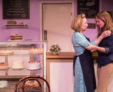 l-r: Debra Jo Rupp and Shannon Lucio in The Cake at the Echo Theater Company.