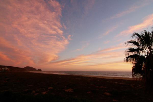 Baja Beach sunset, Todos Santos, Baja California Sur, Todos Santos Writers Workshop