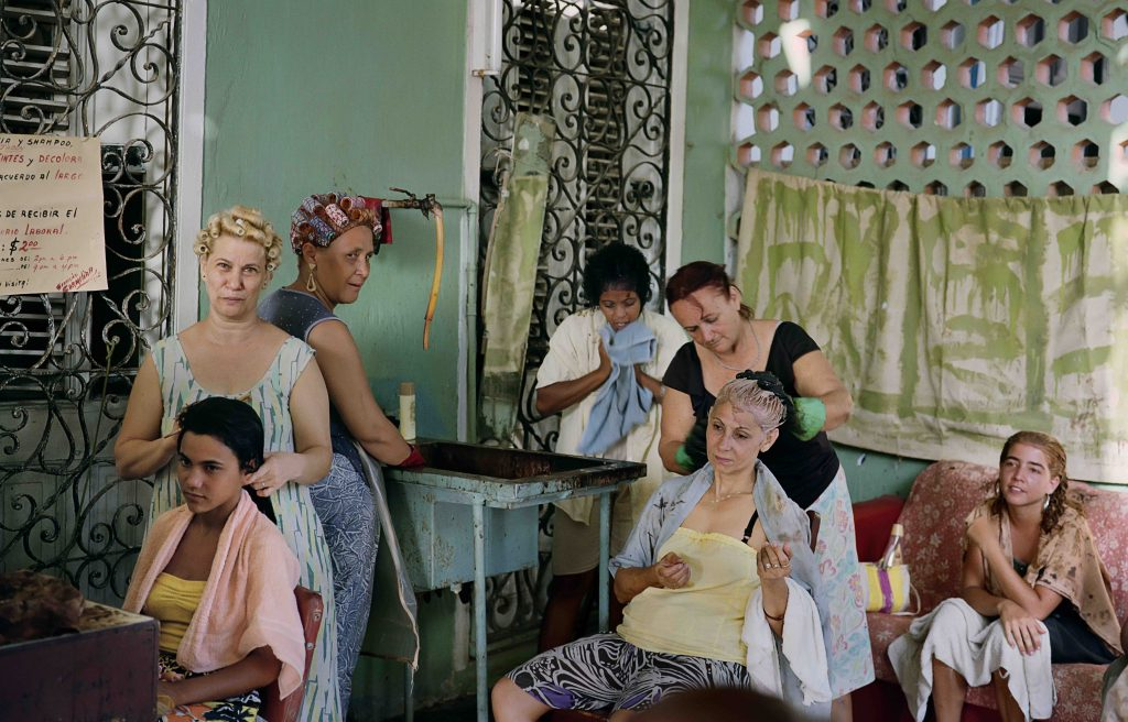 Beauty Salon (c) 1993 Tria Giovan