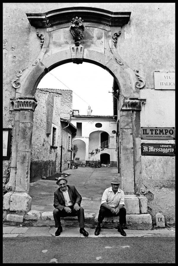 Men. Montepagano, Abruzzi. July 1976