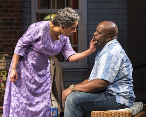 Phylicia Rashad and J.Bernard Calloway in Head of Passes at the Mark Taper Forum.