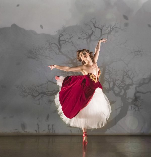 """Ashley Shaw in Matthew Bourne's """"The Red Shoes"""" Photo by Johan Persson."""