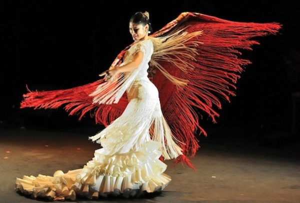 Forever Flamenco's Lakshmi Basile. Photo courtesy of the artist.