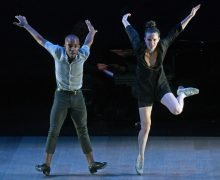 2 - Dorrance Dance_ Myelination_Pictured (l-r) Byron Tittle and Michelle Dorrance_Photo Credit Kevin Parry for The Wallis