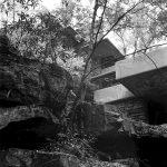 """""""Fallingwater,"""" Be4ar Run, PA, 1939. Photo R&R Meghiddo."""