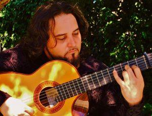 Flamenco guitarist Andres Vadin.