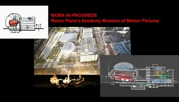 Renzo Piano presenting the Academy Museum at the Samuel Goldwyn Theater