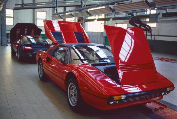 Ferrari 308 GT (c) Elisa Leonelli 1983