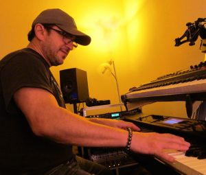 Keyboardist Joey Navarro.
