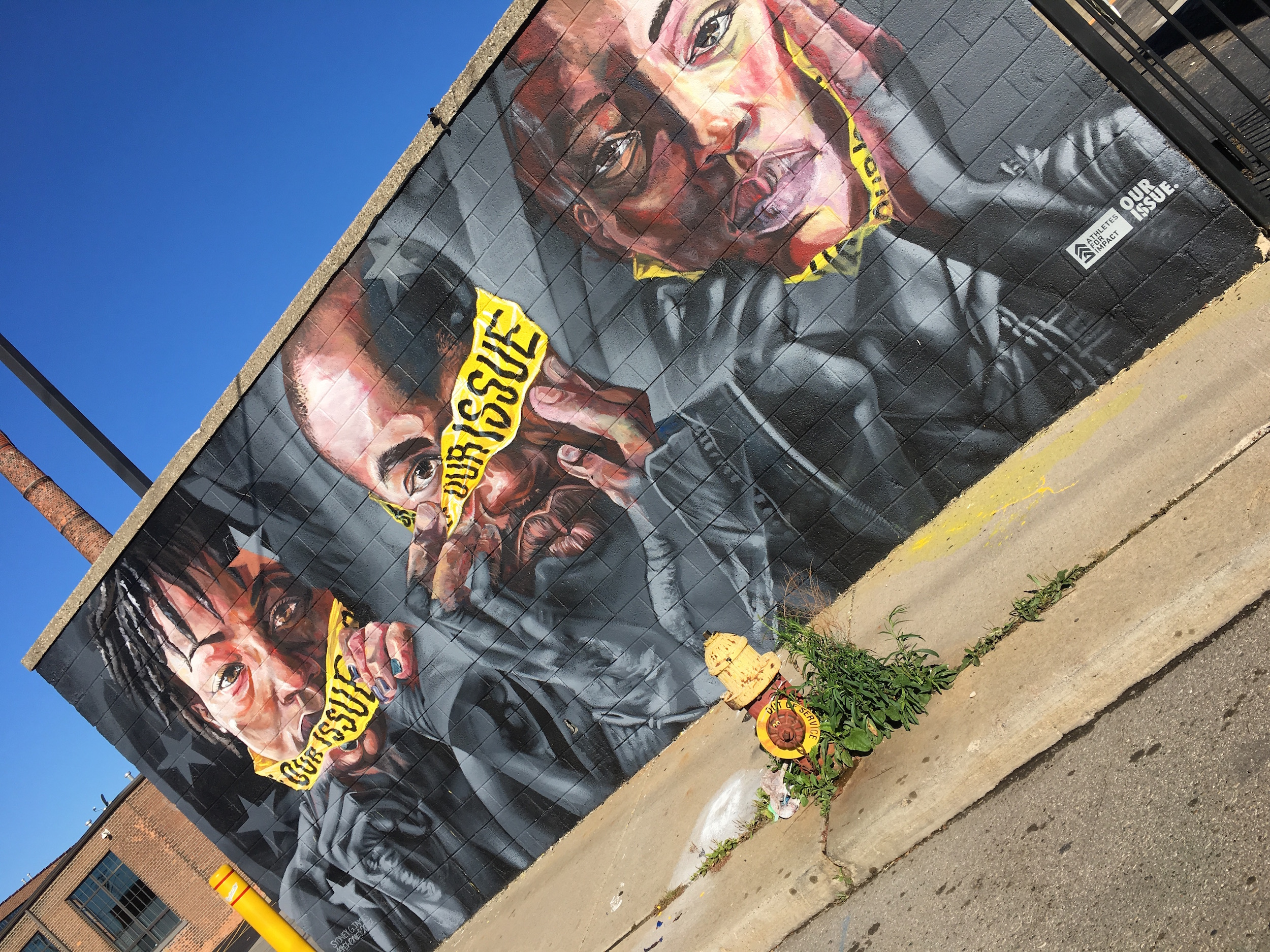 Detroit Murals in the Market