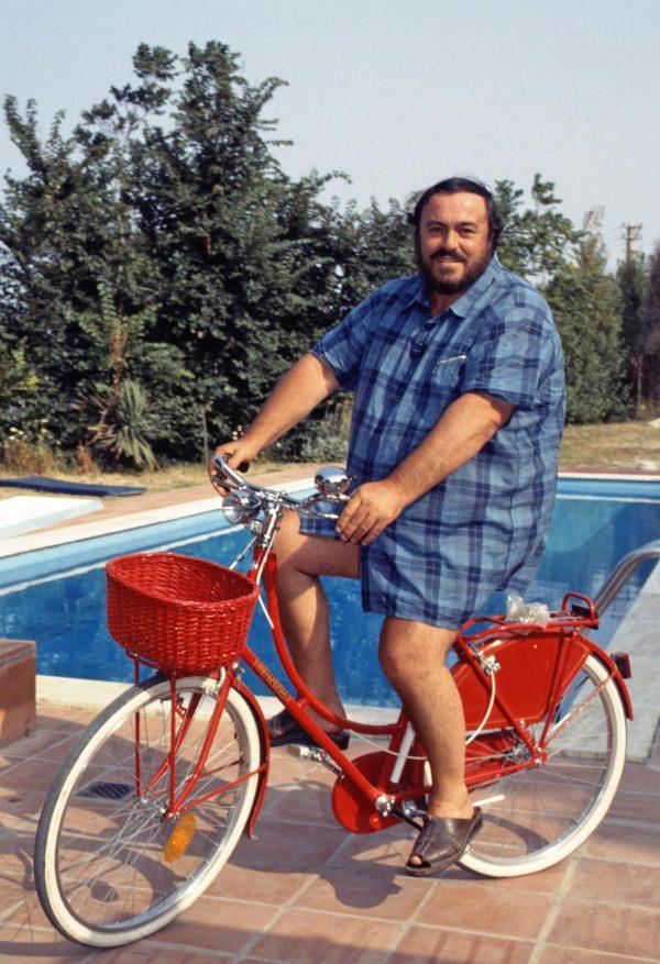 Luciano Pavarotti (c) Elisa Leonelli 1985