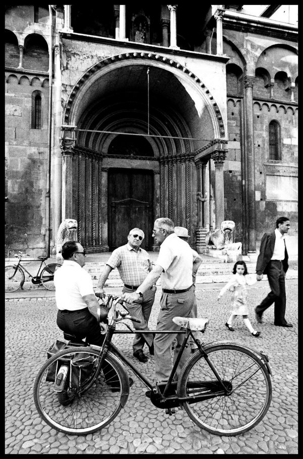 Bicycle. Modena, Italy. June 1976
