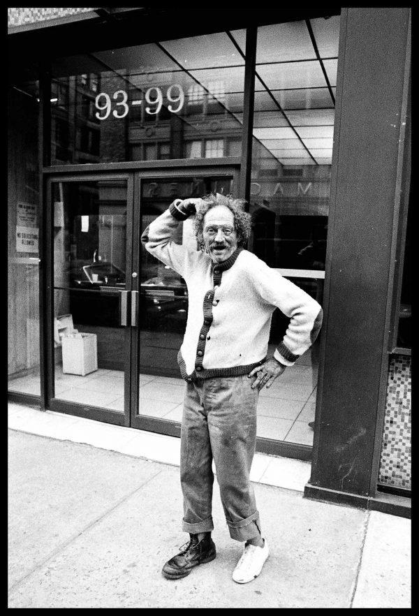 Homeless. New York, June 1976