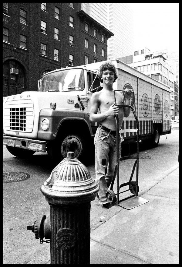 Truck. New York, June 1976