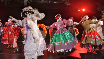 "Danza Floricanto/USA's ""Dia de Los Muertos (Day of the Dead"".  Photo by Frank Sandoval"
