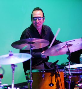 Joey Heredia on drums.