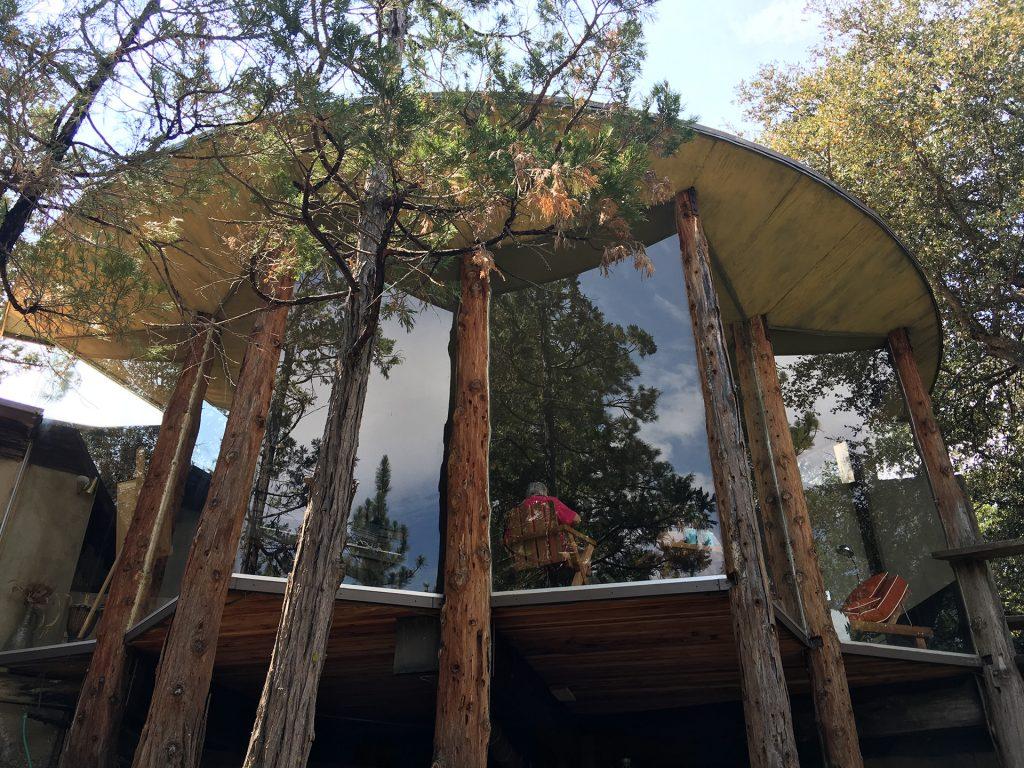 """Pearlman Cabin,"" Idyllwild. Architect: John Lautner."