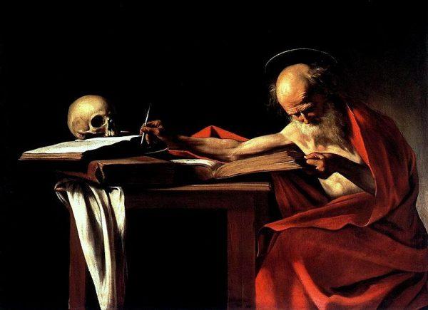 Caravaggio-San_Jerolamo1605-1606