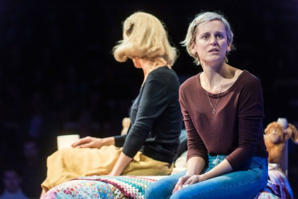 Barbara Marten and Denise Gough in People, Places and Things. Credit: Teddy Wolff