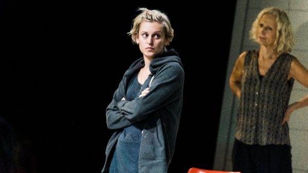 Denise Gough and Linda Marten in People, Places and Things. Credit: Teddy Wolff
