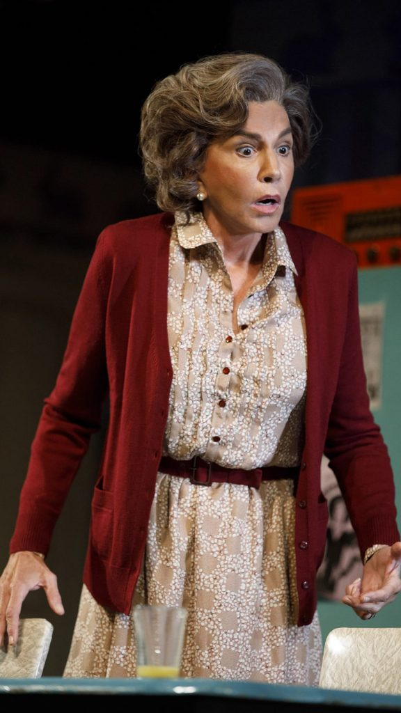 Mercedes Ruehl in Torch Song. Credit: Joan Marcus