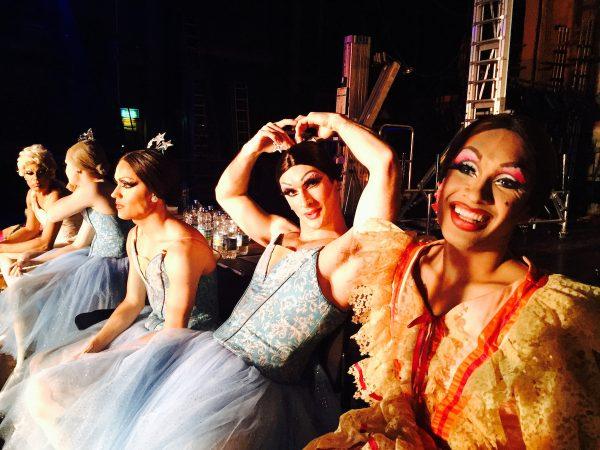 Les Ballets de Trockadero de Monte Carlo. Photo courtesy of Icarus Films.