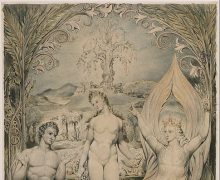 William Blake, 'The Archangel Raphael with Adam and Eve'', 1808